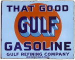 That Good Gulf Gasoline Sign