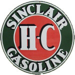Sinclair H-C Gasoline Sign