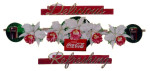 Coca-Cola Flowers Sign