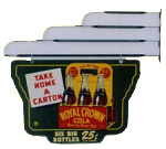 Royal Crown Cola Wall Hangar
