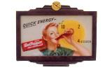 Dr Pepper Advertising Clock