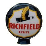 Circular Richfield Ethyl Globe
