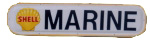 Shell Marine Strip Sign