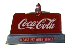 Coca-Cola Cash Register Sign