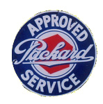 Packard Service Sign