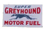 Super Greyhound Motor Fuel Sign