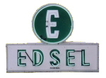 Neon Edsel Sign