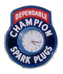Champion Spark Plugs Clock