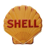 Shell Oil Die-Cut Sign