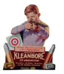 Kleanbore Ammunition Sign