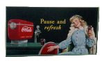 Pause and Refresh Coca-Cola Sign