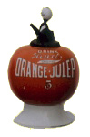 Orange Julep Countertop Syrup Dispenser
