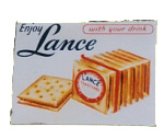 Lance Crackers Sign