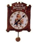 Pendulum Clock Damaskeene