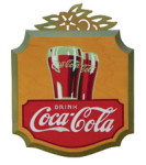 Drink Coca-Cola Die-Cut Sign