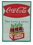 Take Home a Carton Coca-Cola Sign