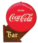 Drink Coca-Cola Bar Sign