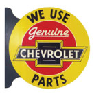 Genuine Chevrolet Parts Sign