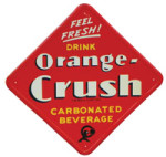 Drink Orange-Crush Sign