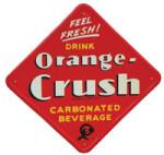 Drink Orange-Crush Sign