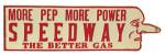 Speedway Gas Sign