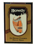 Howdy Orange Drink Sign