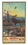 Western Ammunition Moose Poster