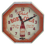 Drink Bob Cola Clock