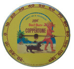 Coppertone Thermometer