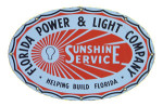 Florida Power and Light Company Sign