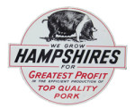 Hampshires Farm Sign