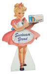 Sunbeam Bread Standing Sign