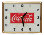 Square Coca-Cola Clock