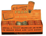 Fram Air Filter Display