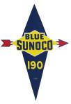 Sunoco Blue 190 Sign