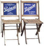 Folding Piedmont Cigarette Chairs