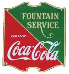 Coca-Cola Service Sign