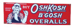 OshKosh B'Gosh Overalls Sign