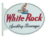 White Rock Sparkling Beverages Flange Sign