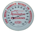 Remington Firearms Round Thermometer