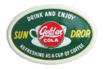 Golden Cola Sun Drop Sign