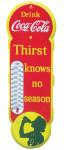 Coca-Cola thermometer