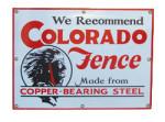Colorado Fence Sign