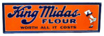 King Midas Flour Sign
