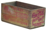 Coca-Cola Gum Wooden Box