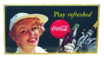 Coca-Cola Play Refreshed Sign