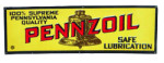Pennzoil Strip Sign