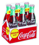 Coca-Cola Six-Pack Sign