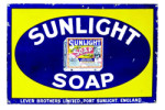 Sunlight Soap Sign