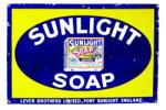 Sunlight Soap Sign